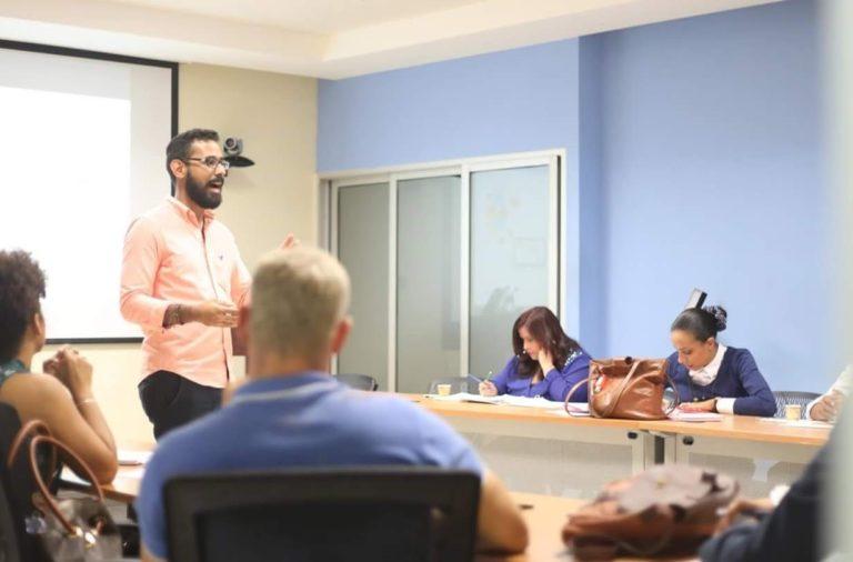 Miguel Ceballos en curso Marketing Digital para Emprendedores