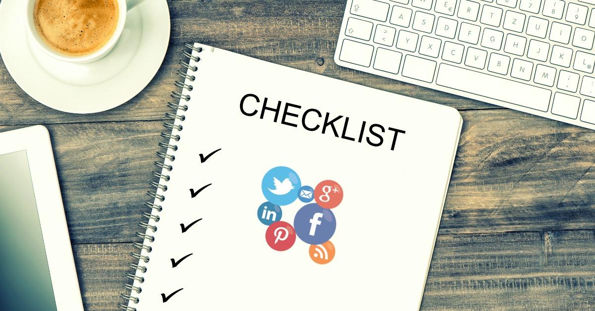 El checklist de un proyecto o empresa bien posicionado en medios digitales